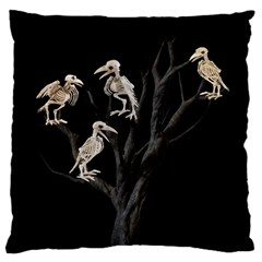 Dead Tree  Standard Flano Cushion Case (one Side) by Valentinaart