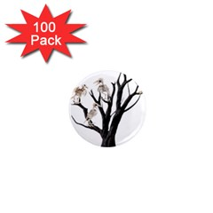 Dead Tree  1  Mini Magnets (100 Pack)  by Valentinaart