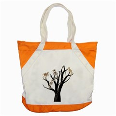 Dead Tree  Accent Tote Bag by Valentinaart