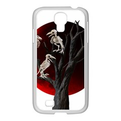 Dead Tree  Samsung Galaxy S4 I9500/ I9505 Case (white) by Valentinaart
