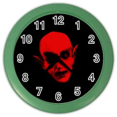 Dracula Color Wall Clocks by Valentinaart
