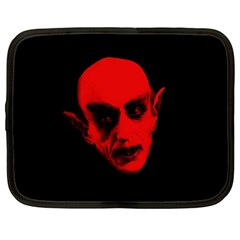 Dracula Netbook Case (large) by Valentinaart