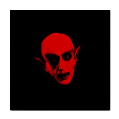 Dracula Face Towel by Valentinaart