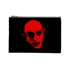 Dracula Cosmetic Bag (large)  by Valentinaart