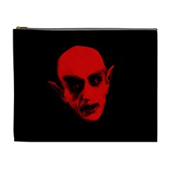 Dracula Cosmetic Bag (xl) by Valentinaart