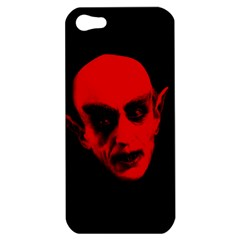 Dracula Apple Iphone 5 Hardshell Case by Valentinaart