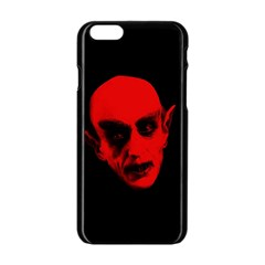 Dracula Apple Iphone 6/6s Black Enamel Case by Valentinaart