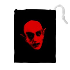 Dracula Drawstring Pouches (extra Large) by Valentinaart
