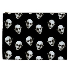 Dracula Cosmetic Bag (xxl)  by Valentinaart