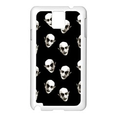 Dracula Samsung Galaxy Note 3 N9005 Case (white) by Valentinaart