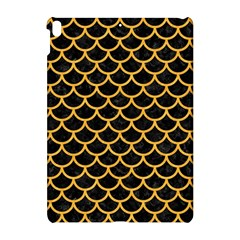 Scales1 Black Marble & Orange Colored Pencil Apple Ipad Pro 10 5   Hardshell Case by trendistuff