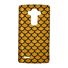Scales1 Black Marble & Orange Colored Pencil (r) Lg G4 Hardshell Case by trendistuff