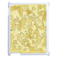 Fantasy Dungeon Maps 1 Apple Ipad 2 Case (white) by MoreColorsinLife