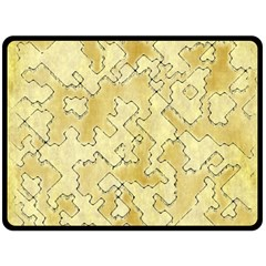 Fantasy Dungeon Maps 1 Double Sided Fleece Blanket (large)  by MoreColorsinLife