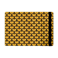 Scales3 Black Marble & Orange Colored Pencil (r) Ipad Mini 2 Flip Cases by trendistuff