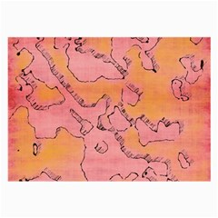 Fantasy Dungeon Maps 6 Large Glasses Cloth (2 Side)