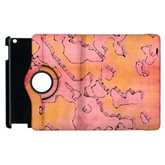 Fantasy Dungeon Maps 6 Apple Ipad 3/4 Flip 360 Case by MoreColorsinLife
