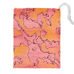 Fantasy Dungeon Maps 6 Drawstring Pouches (xxl) by MoreColorsinLife