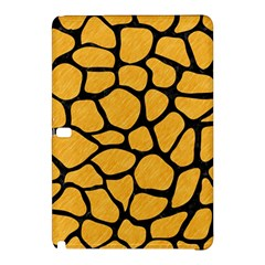 Skin1 Black Marble & Orange Colored Pencil Samsung Galaxy Tab Pro 12 2 Hardshell Case by trendistuff