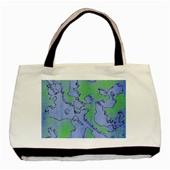 Fantasy Dungeon Maps 5 Basic Tote Bag (two Sides) by MoreColorsinLife