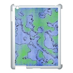 Fantasy Dungeon Maps 5 Apple Ipad 3/4 Case (white) by MoreColorsinLife