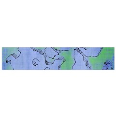 Fantasy Dungeon Maps 5 Flano Scarf (small) by MoreColorsinLife