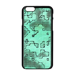 Fantasy Dungeon Maps 7 Apple Iphone 6/6s Black Enamel Case by MoreColorsinLife