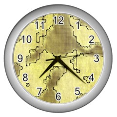 Fantasy Dungeon Maps 8 Wall Clocks (silver)  by MoreColorsinLife