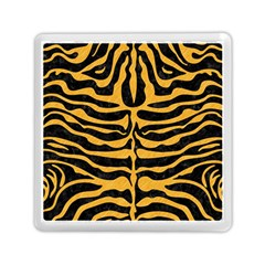 Skin2 Black Marble & Orange Colored Pencil Memory Card Reader (square)  by trendistuff