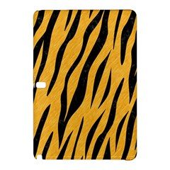 Skin3 Black Marble & Orange Colored Pencil (r) Samsung Galaxy Tab Pro 12 2 Hardshell Case by trendistuff