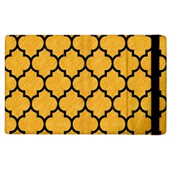 Tile1 Black Marble & Orange Colored Pencil (r) Apple Ipad 3/4 Flip Case by trendistuff