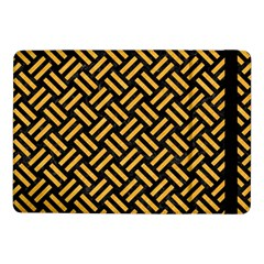 Woven2 Black Marble & Orange Colored Pencil Samsung Galaxy Tab Pro 10 1  Flip Case by trendistuff