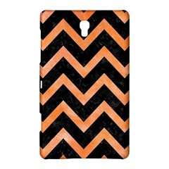 Chevron9 Black Marble & Orange Watercolor (r) Samsung Galaxy Tab S (8 4 ) Hardshell Case  by trendistuff