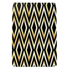 Gold,black,art Deco Pattern Flap Covers (s)  by 8fugoso
