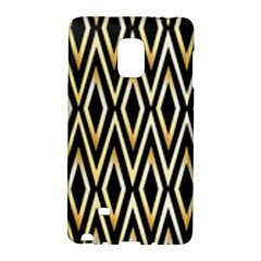Gold,black,art Deco Pattern Galaxy Note Edge by 8fugoso