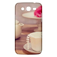 High Tea, Shabby Chic Samsung Galaxy Mega 5 8 I9152 Hardshell Case  by 8fugoso