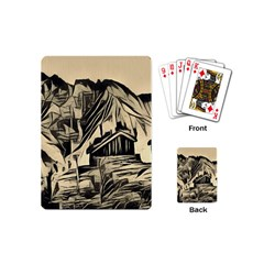 Ink Art Playing Cards (mini)  by 8fugoso