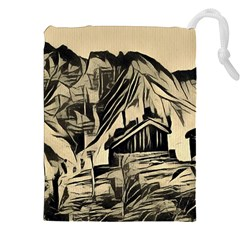 Ink Art Drawstring Pouches (xxl) by 8fugoso