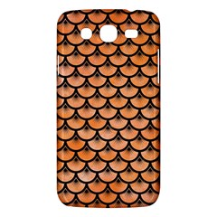 Scales3 Black Marble & Orange Watercolor Samsung Galaxy Mega 5 8 I9152 Hardshell Case  by trendistuff