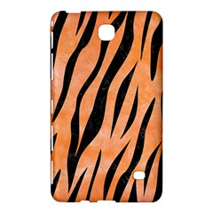Skin3 Black Marble & Orange Watercolor Samsung Galaxy Tab 4 (8 ) Hardshell Case  by trendistuff
