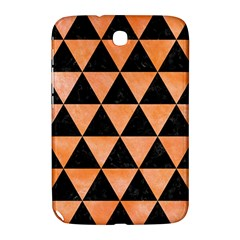 Triangle3 Black Marble & Orange Watercolor Samsung Galaxy Note 8 0 N5100 Hardshell Case  by trendistuff