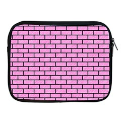 Brick1 Black Marble & Pink Colored Pencil Apple Ipad 2/3/4 Zipper Cases by trendistuff