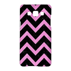Chevron9 Black Marble & Pink Colored Pencil (r) Samsung Galaxy A5 Hardshell Case  by trendistuff