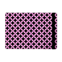 Circles3 Black Marble & Pink Colored Pencil (r) Ipad Mini 2 Flip Cases by trendistuff
