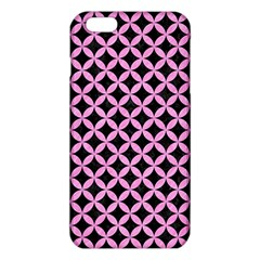 Circles3 Black Marble & Pink Colored Pencil (r) Iphone 6 Plus/6s Plus Tpu Case by trendistuff