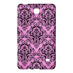 Damask1 Black Marble & Pink Colored Pencil Samsung Galaxy Tab 4 (8 ) Hardshell Case  by trendistuff
