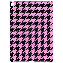Houndstooth1 Black Marble & Pink Colored Pencil Apple Ipad Pro 12 9   Hardshell Case by trendistuff