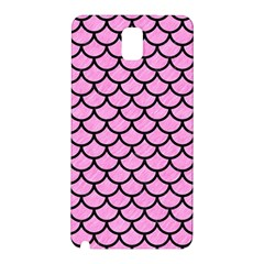 Scales1 Black Marble & Pink Colored Pencil Samsung Galaxy Note 3 N9005 Hardshell Back Case by trendistuff