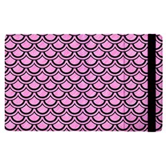 Scales2 Black Marble & Pink Colored Pencil Apple Ipad Pro 9 7   Flip Case by trendistuff