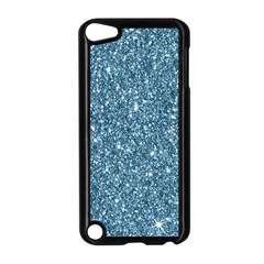 New Sparkling Glitter Print F Apple Ipod Touch 5 Case (black) by MoreColorsinLife